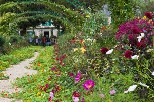 Blumen aus aller Welt pflanzte Monet in seinen Garten. (Bild: B@rberousse CC BY-SA 2.0)